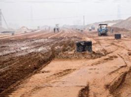 张家港重点工程沙洲湖一干河东路项目